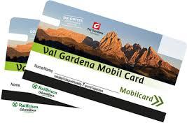 Val Gardena Mobil Card